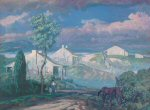 Frank Wilcox Cleveland School Art Painting 1