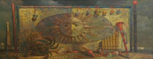 Paul Riba Zodiac            Cleveland School Art Painting 2