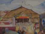 Fred Rentschler Cleveland School Art Painting 2